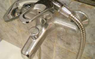 Разборка крана смесителя в ванной