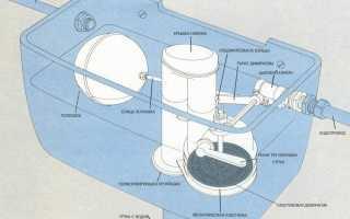 Как заменить бачок унитаза