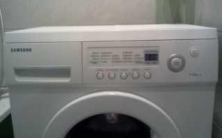 Не сливает воду стиральная машина самсунг