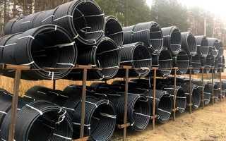 Диаметр труб пнд для водопровода