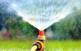 Разводка воды по участку