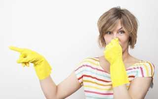 Как почистить стиральную машину от запаха