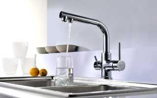 Смеситель с одним вентилем для холодной воды