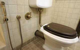 Гигиенический душ для унитаза с термостатом