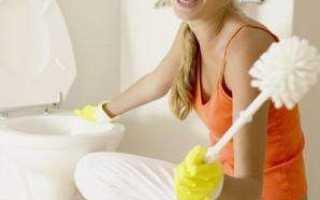 Чем очистить налет в унитазе