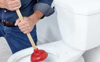 Чем прочистить унитаз от засора