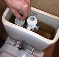Сливной бачок для унитаза устройство ремонт