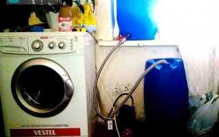 Подключение машинки автомат к водопроводу