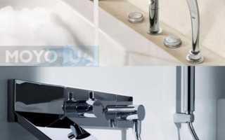 Кран смеситель для ванной