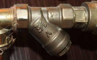 Фильтр на трубу