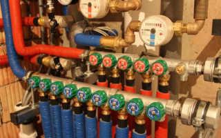 Коллектор водоснабжения