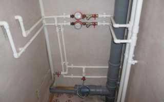 Водопровод в квартире своими руками из полипропилена