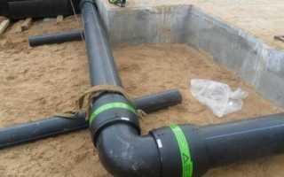 Водопровод из пнд