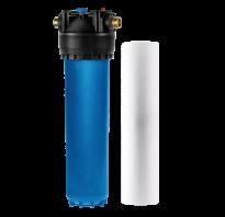 Магистральный фильтр грубой очистки воды