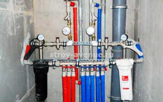 Разводка труб водоснабжения на даче