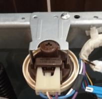 Датчик уровня воды в стиральной машине