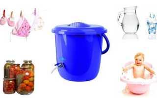 Проточные фильтры для воды на дачу