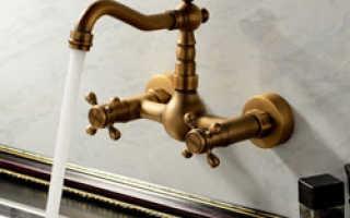 Кран в ванной разобрать