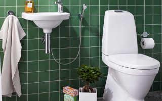Смеситель гигиенический душ в туалете